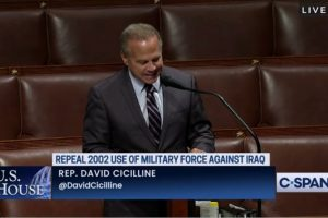 Cicilline Remarks On Repealing Authorization For Use Of Military Force Against Iraq Resolution Of 2002 (H.R. 256 AUMF)